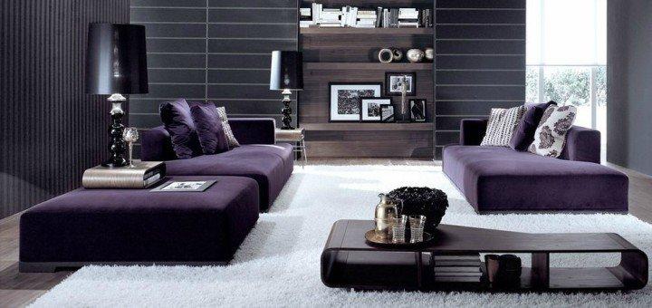Purple Interior Design